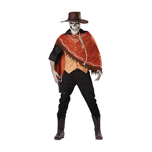 Outlaw Cowboy Costume (Totally Ghoul Outlaw's Revenge Costume, Size: Large -40-46)