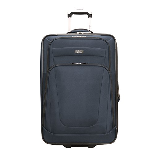 Skyway Luggage Epic 25 Inch 2 Wheel Expandable Upright, Surf Blue