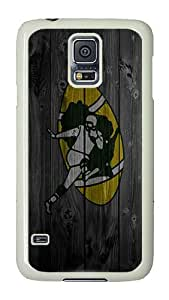 Samsung Galaxy S5 Case, Galaxy S5 Cover - Football Packer PC Plastic Hard Shell Case Snap On Back Cover for Samsung Galaxy S5 I9600 White