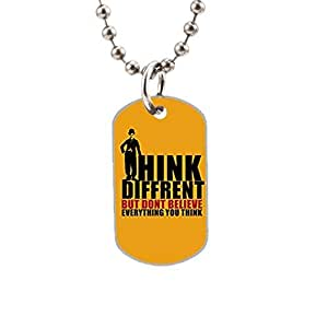 Positive Thoughts Custom image Oval Dog Tag Pet Tags Handmade Tags Cute Gift Ideal