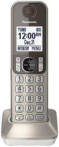 Panasonic KXTGFA30N DECT 6.0 Additional Digital Cordless Han