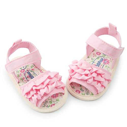 04f8acc70 Nuevo Sandalias Bebe Niña Verano K-Youth® Zapatos Bebe Niña Antideslizante  Suela Blanda Primeros