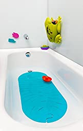 Boon RIPPLE Bathtub Mat, Blue