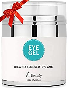 Upgraded Eye Gel for Dark Circles, Eye Circles, the Most Effective Anti-Aging Eye Gel and Eye Circle Cream, the Best Eye Gel and Eye Circle Cream for 2018