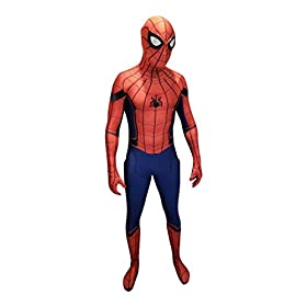 - 411se7YyLtL - CosplayLife Spider-Man Homecoming Avengers Infinity War Cosplay Costume Iron Spider Suit