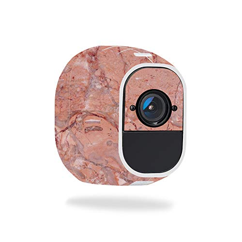 MightySkins Skin for Netgear Arlo Pro 2 - Pink Marble | Protective, Durable, and Unique Vinyl Decal wrap Cover | Easy to Apply, Remove, and Change Styles | Made in The USA