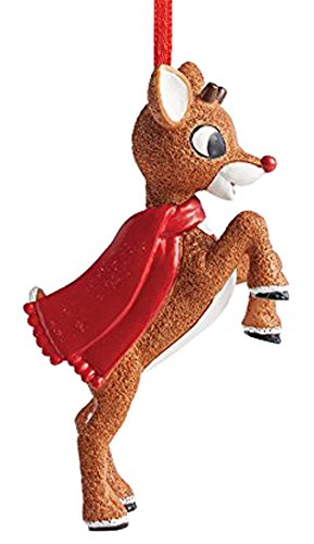 h the Red-Nosed Reindeer Personalizable Hanging Ornament (Reindeer Hanging Ornament)