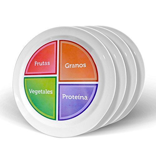 MyPlate SPANISH Healthy Portion Control product image