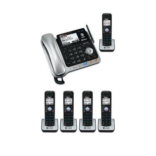 AT & T TL86109 DECT 6.0 2-line Bluetooth Cord-Cordless Phone