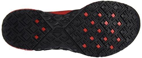 Skechers Go Train-Endurance, Scarpe Running Uomo Rosso (Red/Black)
