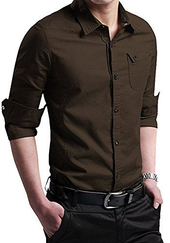 dress shirts with brown shoes - 6