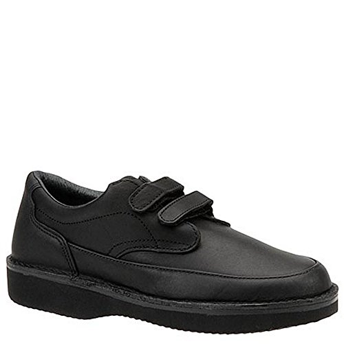 Ultra Walker Mens Quick Grip Casual Walking Leather, Black, Size 12.0