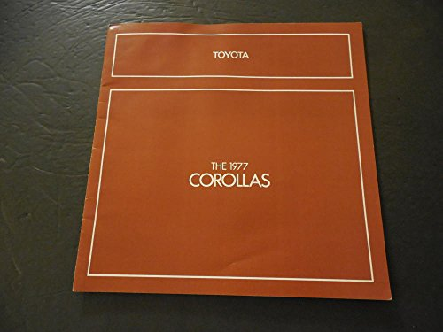 Dealers Advertising Brochure For The 1977 Toyota Corollas
