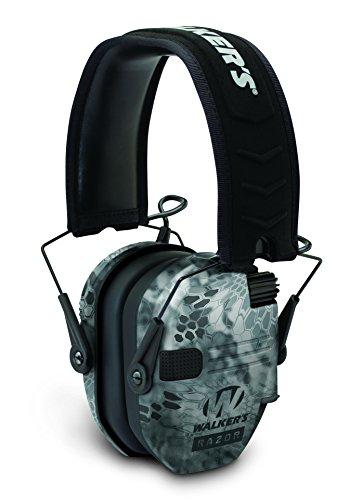 (GSM Outdoors GWP-RSEM-KPT Walkers Game Ear Razor Slim Electronic Muff, Kryptek Camo)