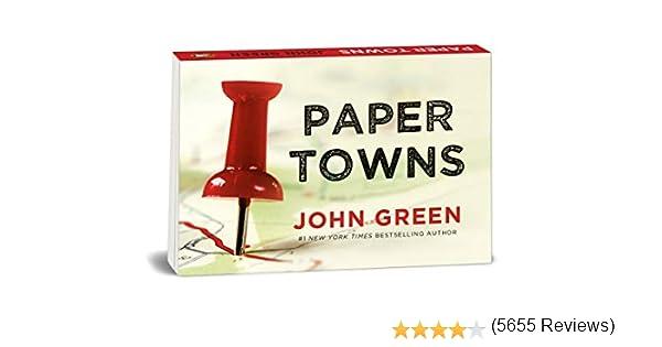 Paper Towns (Dwarsligger): Amazon.es: Green, John, Green, John ...