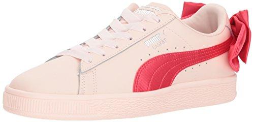 PUMA Kids Basket Bow Jr Sneaker
