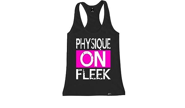 e1835c5691ef5e FTD Apparel Women s Physique on Fleek Racerback Tank Top  Amazon.ca   Clothing   Accessories