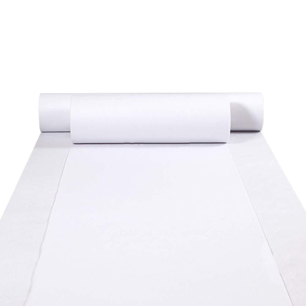 DITAN Langer Teppich Teppich Teppich im westlichen Stil Einwegvlies Hochzeit Weißer Teppich Hotel Korridor Hoteleröffnung und andere Aktivitäten (Dicke 1,5 2   2,3 mm) (Farbe   Weiß-2.3mm, größe   1.2x30 m) B07KQ346LB Teppiche 9a7118