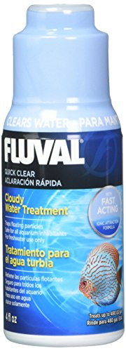 Fluval Quick Clear for Aquarium Water Treatment, 4-Ounce