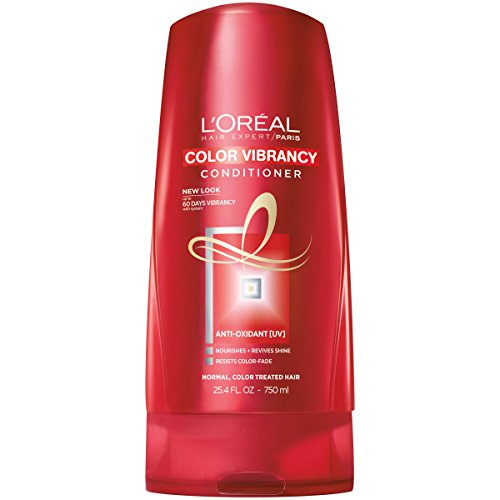 L'Oréal Paris Hair Expert Color Vibrancy Protecting Conditioner, 25.4 fl. oz. (Packaging May Vary) (Protecting Colour Conditioner)