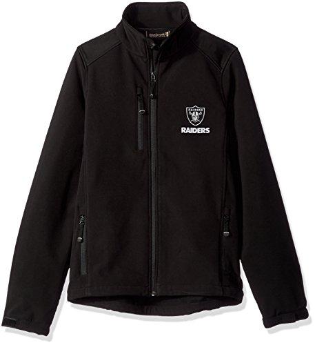Polar Fleece Raiders Oakland (Dunbrooke Apparel NFL Oakland Raiders Men's Softshell Jacket, Medium, Black)