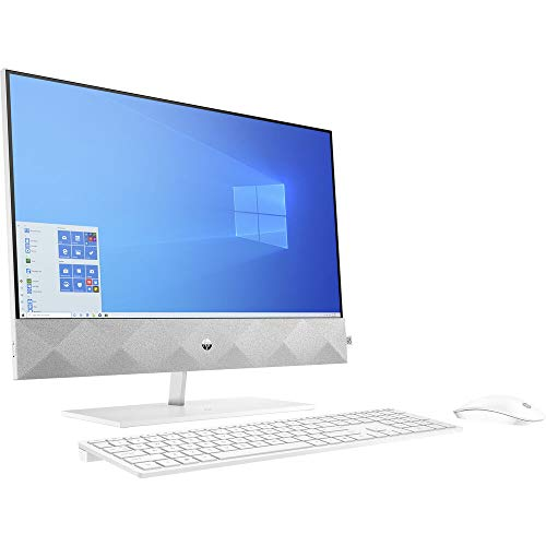 HP Pavilion 27 Touch Desktop 1TB SSD 32GB RAM Extreme (Intel Core i9-10900 Processor with Turbo Boost to 5.20GHz, 32 GB RAM, 1 TB SSD, 27-inch FullHD Touchscreen, Win 10) PC Computer All-in-One