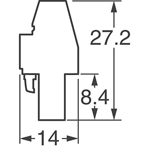 TERM BLOCK PLUG 12POS 5.08MM (Pack of 5)