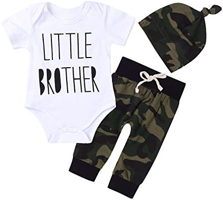 Little Brother Camouflage Leggings Outfits product image