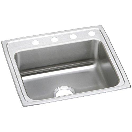 Elkay Celebrity PSR25223 Single Bowl Top Mount Stainless Steel Sink ()