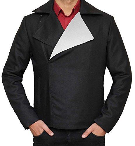 Black Star War Return of Jedi Cotton Jacket (Black - Return of Jedi Jacket, (Make Luke Skywalker Costume)