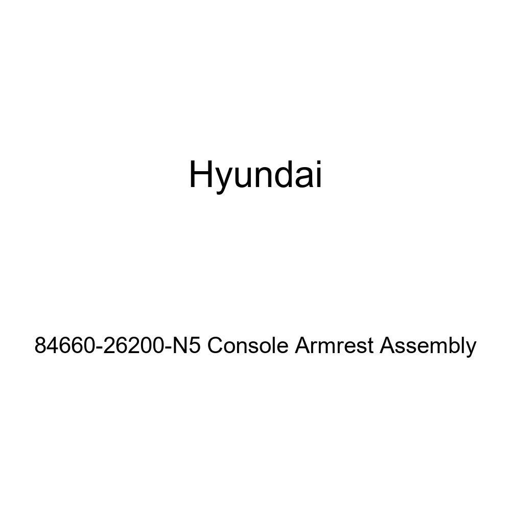 Genuine Hyundai 84660-26200-N5 Console Armrest Assembly