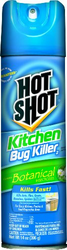 Hot Shot 4470 14-Ounce Kitchen Bug Killer Aerosol, Case Pack of 1