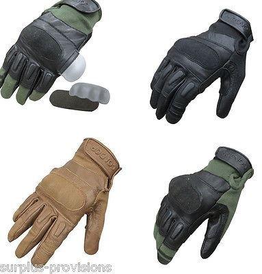 Condor Leather Gloves - Condor Kevlar Tactical Glove - 220 (XL, Tan)