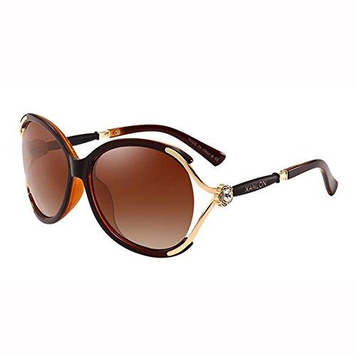 Sol Viaje Gafas Unisexo WX Polarizada UV400 xin 3 Negro De 3 Luz De Moda Metal A Color Pie Marco x6qA8S