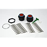 Deutsch HDP20 Bulkhead 31-pin Connector kit, 14-16 AWG Stamped Contacts