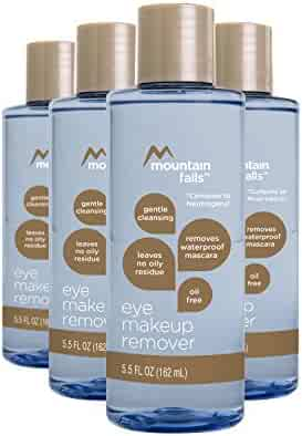 Mountain Falls Oil-Free Gentle Cleansing Eye Makeup Remover, Compare to Neutrogena, 5.5 Fluid Ounce (Pack of 4)