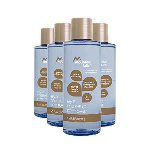 Mountain Falls Oil-Free Eye Makeup Remover, 5.5 Fluid Ounce (Pack of 4)