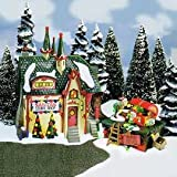 Dept 56 Buildings SANTA'S LIGHT SHOP 56397 North Pole Series New
