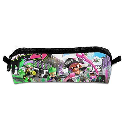 Jingloe Running Spl-atoon 2 Pencil Case 3D Zipper Pencil Bag Holder Pen Box Organizer Stationery for Kids Students