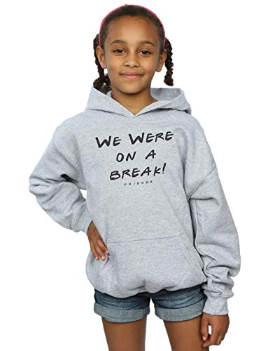 Friends Fille À Break On Gris Cult Sport Sweat We Text Absolute Capuche A Were Ew15qnf