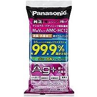 Panasonic 消臭・抗菌加工「逃がさんパック」 3枚入(M型Vタイプ) AMC-HC12