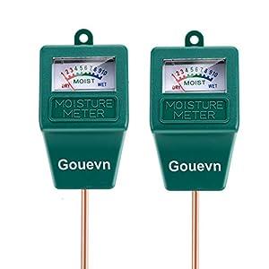 Gouevn 2pack Soil Moisture Meter, Hygrometer Soil Plant Water Meter, Plant Moisture Meter Indoor & Outdoor for Potted…