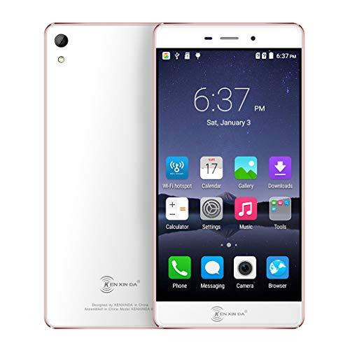 MChoice❤️KENXINDA R6 Android6 5.2InchOcta-Core 2+16G WiFi Dual SIM Cellphone Smartphone (Rose Gold) ()