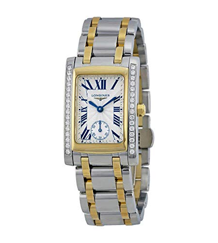 Longines Dolce Vita Silver Dial Two Tone Ladies Watch L55025787