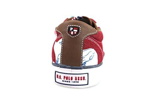 scarpe uomo U.S POLO ASSN. sneakers multicolor tessuto AM826