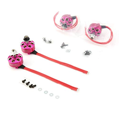 4pcs SUNNYSKY R2207 CW/CCW 2580KV 3-4S Brushless Motor for FPV RC Mini Drone by Wikiwand (Image #3)