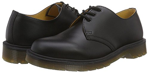 Dr Martens 1461 Schwarz Leder Unisex Schuhe