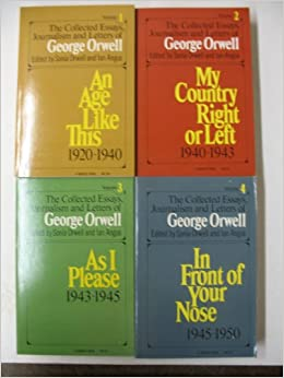 george orwell collected essays journalism and letters