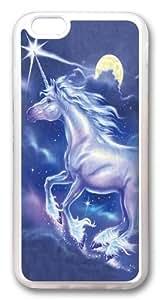 Children's Unicorn Star Custom iphone 6 4.7 inch Case Cover TPU Transparent
