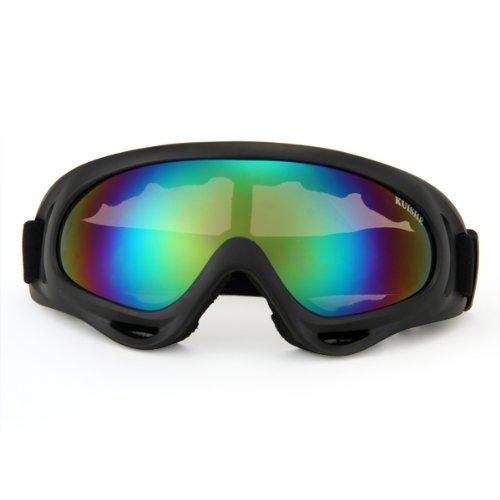 fitTek® Skibrille Snowboardbrille Radbrille Sportbrille Schutzbrille Goggle mehrfarbig